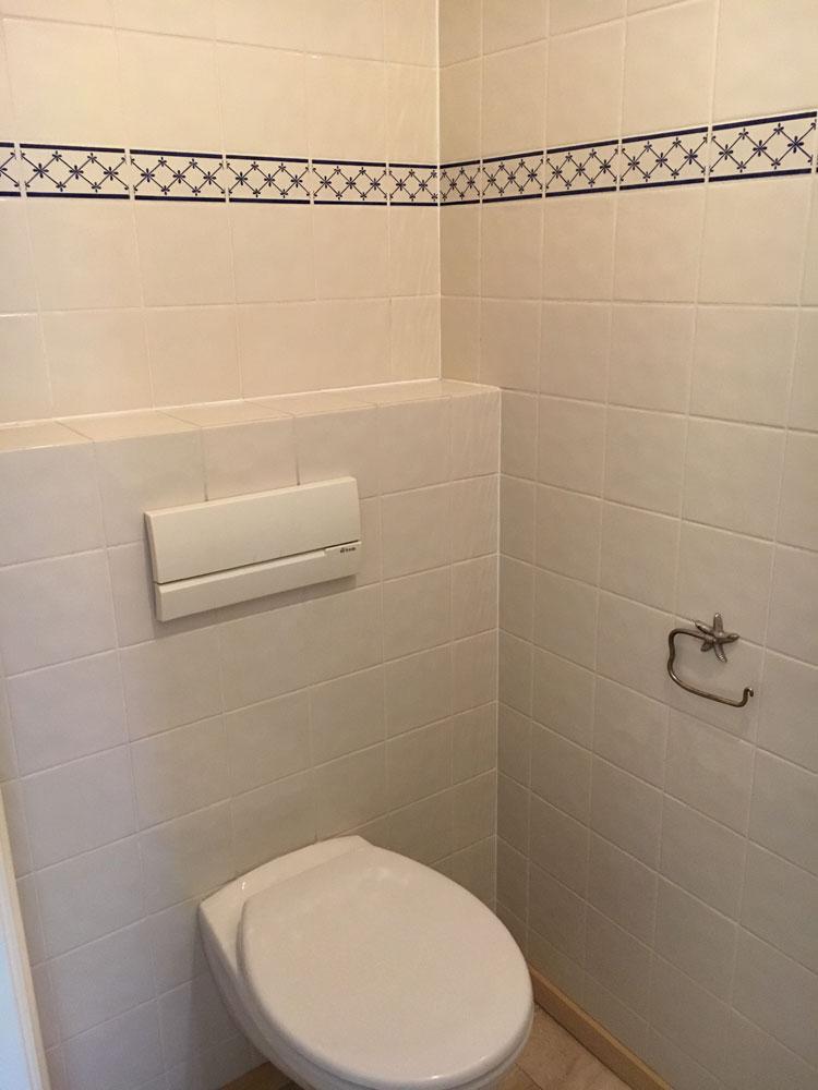 Verbouwen toilet zwart onderhoud menaam