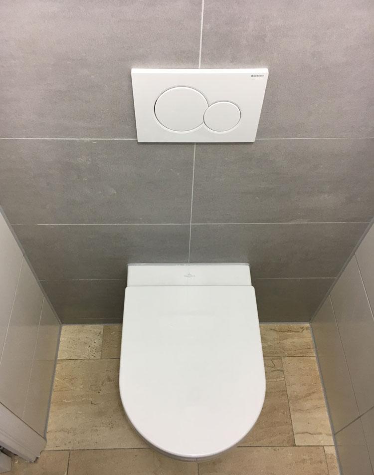 toilet vernieuwen menaam