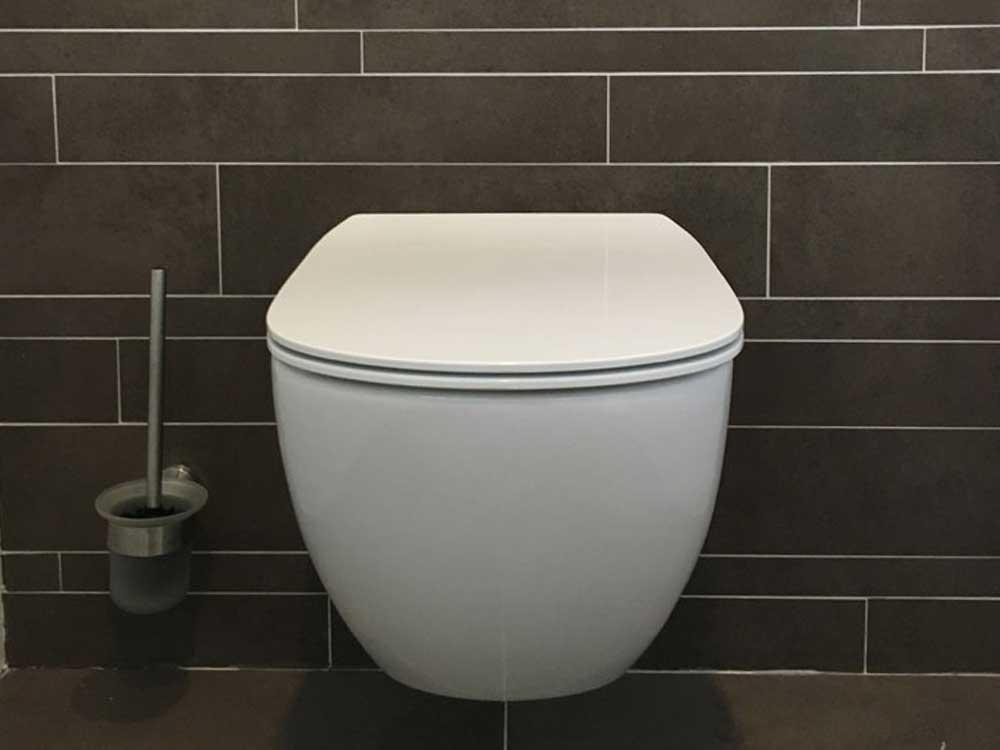Wandcloset toiletrenovatie
