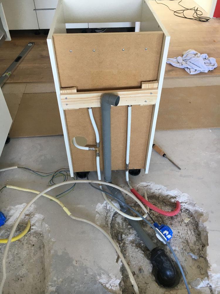 Waterleiding installatiewerk