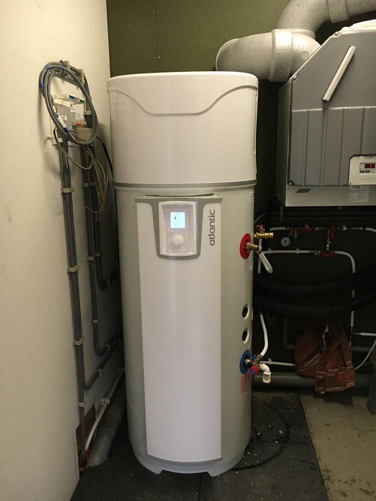 warmteboiler installeren