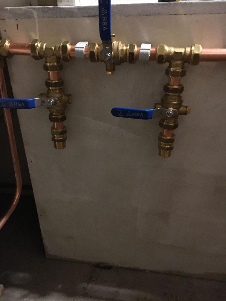 Installatiewerk waterontharder